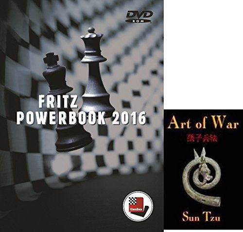Fritz PowerBook 2016 Chess Database Software on DVD and Art of War E-Book Bundle: 2 items (Chess Software For Kids compare prices)