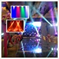 LED Par Light CO-Z 18x3W RGB DJ Stage Party Lights PAR 64 DMX (4pcs)