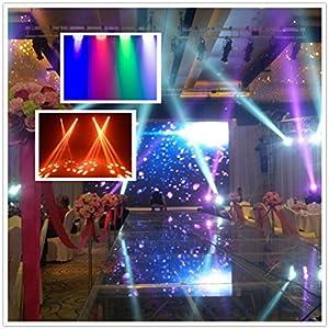 LED Par Light CO-Z 18x3W RGB DJ Stage Party Lights PAR 64 DMX (4pcs)