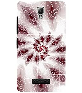 PrintDhaba PATTERN D-6979 Back Case Cover for LENOVO A2010 (Multi-Coloured)