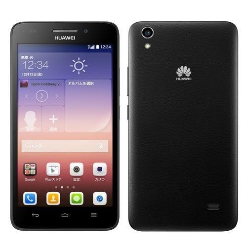 Huawei SIMフリースマートフォン Ascend G6 本体のみ (BLACK)