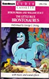 img - for The Little Blue Brontosaurus book / textbook / text book