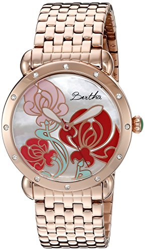 bertha-womens-bthbr1503-josephine-mother-of-pearl-bracelet-rose-gold-multi-colored-watch