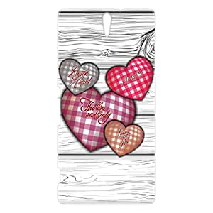 a AND b Designer Printed Mobile Back Cover / Back Case For Sony Xperia C5 Ultra (SON_C5_3D_679)