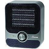 Crane USA EE-6491GR Crane Personal Plastic Heater, Gray