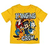 Disney Hanging with the Crew Toddlers Yellow T-Shirt