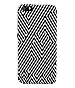 Fuson 3D Printed Pattern Designer Back Case Cover for Huawei Honor 4X - D1079