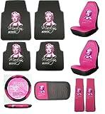 Amazon Marilyn Monroe 10pc Auto Accessories Combo Set