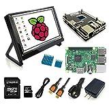 Eleduino Raspberry Pi 3 Super Integrated Computer Kit New Raspberry Pi 3 /7.0 IPS LCD(1024*600)/16GB SD Card / Case /Power...