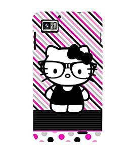 Kity Cute Funny 3D Hard Polycarbonate Designer Back Case Cover for Lenovo K860