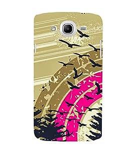 Fuson Premium Printed Hard Plastic Back Case Cover for Samsung Galaxy Mega 5.8 I9150