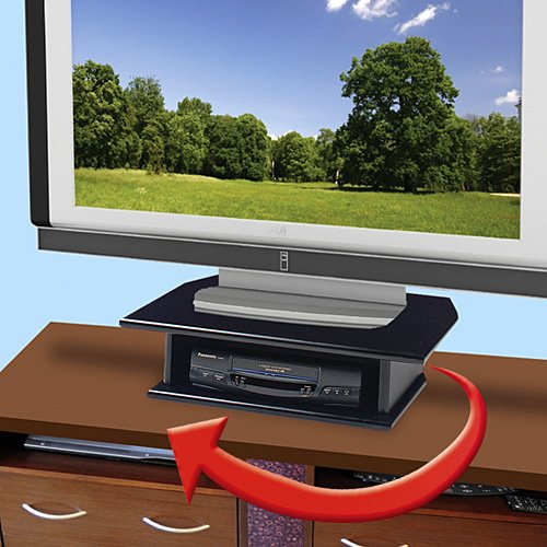 Swivel TV Stand Dual Level for 30-32