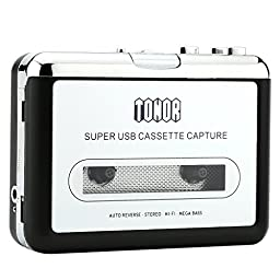 TONOR Portable Cassette Player Type to MP3 Converter