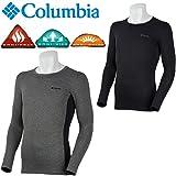Columbia コロンビア メンズ インナーシャツ PM1751 リードザトレイルズラウンドネック Lead The Trails L/S Round Neck トップス アンダーシャツ 吸湿速乾機能 保温性 高機能