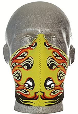 Bandero Biker mask Hot Rod Flames