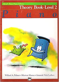 Piano Theory Book - Level 2 (Alfred's Basic Piano Library