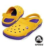 MS-big crocs サンダル カナリー×バイオレット