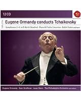Eugène Ormandy dirige Tchaïkovski : Symphonies - Concertos pour piano et violon - Suites de ballet...