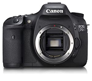 Canon EOS 7D 18 MP CMOS Digital SLR Camera, Body Only (DISCONTINUED)