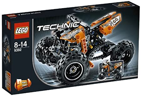 LEGO Technic - 9392 - Jeu de Construction - Le Quad