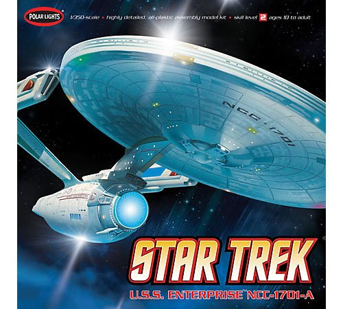 Polar Lights POL808 1 350 Star Trek USS Enterprise A
