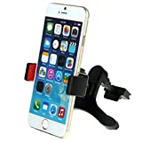 Car Mount, HAWEEL Universal Smartphone Air Vent Car Mount Phone Holder Cradle for iPhone 6 6+ 5 5S 5C 4 4S Samsung Galaxy S5 S4 S3 Note 3,Google Nexus 5/4 and all Smartphones in Black+Red