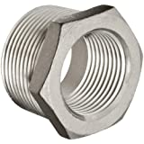 Stainless Steel 304 Cast Pipe Fitting, Hex Bushing, MSS SP-114, NPT Male X Female
