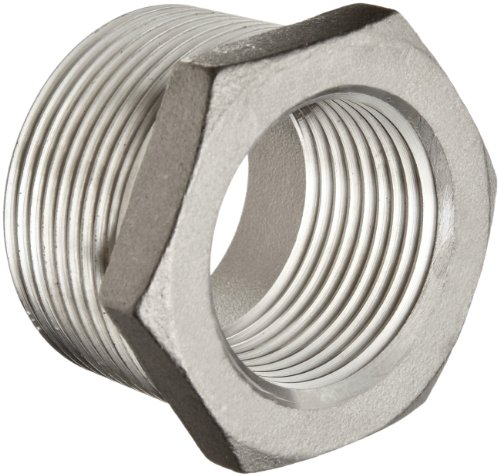 Stainless Steel 304 Cast Pipe Fitting, Hex Bushing, MSS SP-114, 2