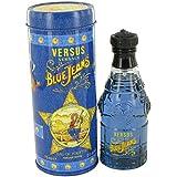 Blue Jeans by Versace 2.5 oz Eau De Toilette Spray (New Packaging) for Men