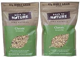 Back to Nature Granola - Classic - 12.5 oz - 2 pk