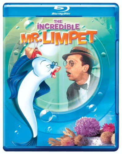 Cover art for  The Incredible Mr. Limpit [Blu-ray]