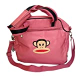 PAUL FRANK Tote bag shoulder bag pink monkey - 100% Vinyl - Size: 40 x 36 cm