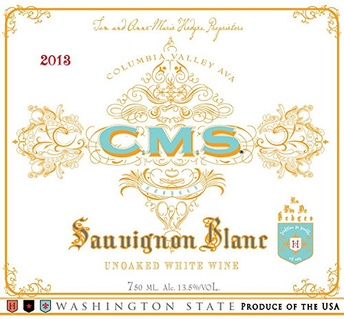 2013 Cms White Columbia Valley Sauvignon Blanc 750 Ml