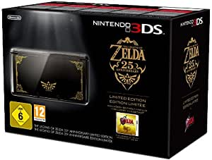 Console Nintendo 3DS - noire + The legend of Zelda : Ocarina of time 3D - 25ème Anniversaire