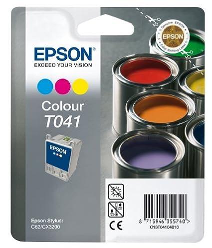 C13T04104010 - Farbe: color, fur STYLUS C 62 CX 3200/ INK CARTRIDGE COLOR