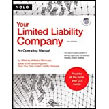 Your Limited Liability Company: An Operating Manual (book with CD-Rom)