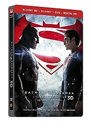 Batman V Superman : L'aube De La Justice - Steelbook Ultimate Édition - Blu-Ray