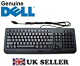 Genuine Original DELL USB Keyboard BLACK SLIM US English QWERTY Layout , Dell P/N : Y532K , Brand New Boxed , FREE DELIVERY