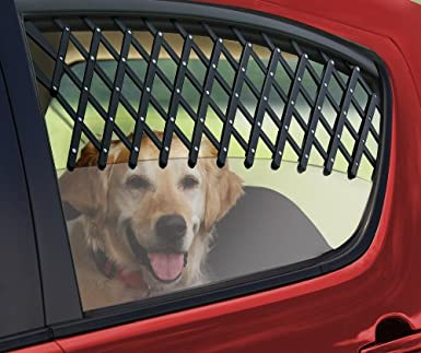 Expandable Car Window Pet Gate