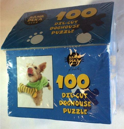 100 Die-Cut Doghouse Puzzle