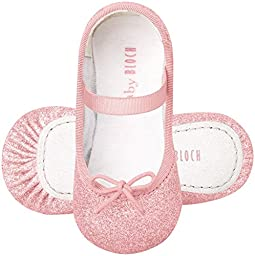 Bloch Shoe Baby Sarah Flat, Pink, 2 M US Infant