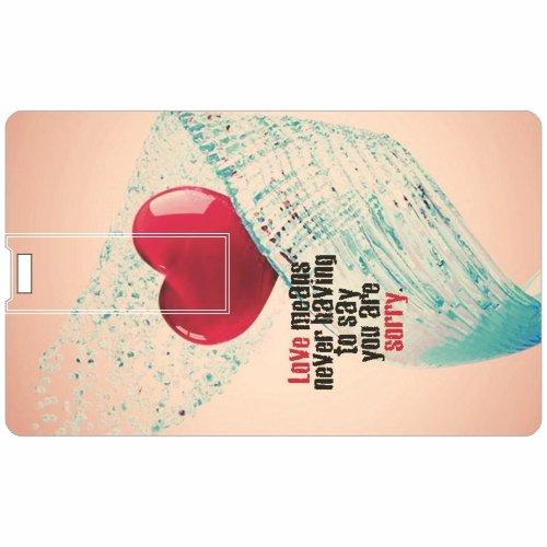 Heart-Credit-Card-8GB-Pen-Drive