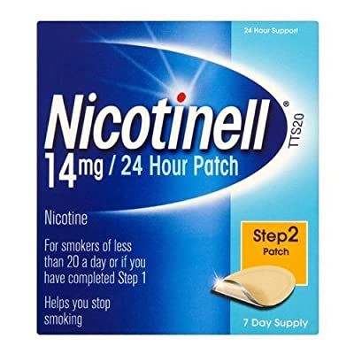 Nicotinell 14mg/24 Hour Patch Step 2 Patch 7 Day Supply from Nicotinell