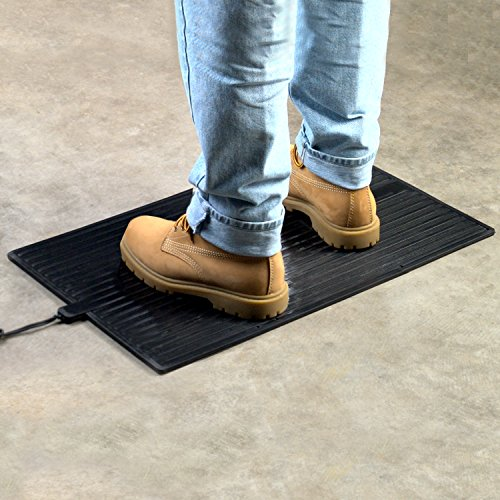 Heated foot warming mat cozy products space heaters fw for Warm toes radiant heat