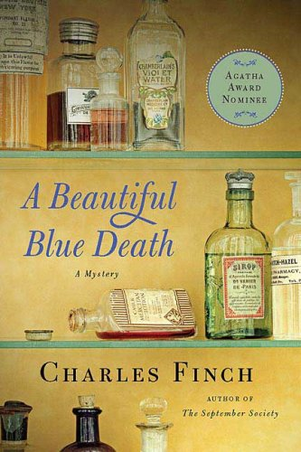 Image for A Beautiful Blue Death (Charles Lenox Mysteries)