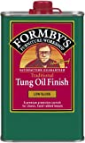 Formbys 30064 Low Gloss Tung Oil Finish, 16-Ounce