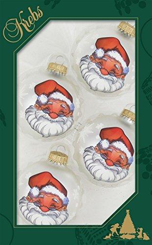 original-lauschaer-christbaumschmuck-4er-set-kugeln-klar-mit-historischem-santa-dekor-67-cm-mit-gold