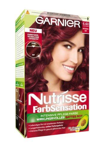 garnier nutrisse farbsensation intensiv pflege haarfarbe. Black Bedroom Furniture Sets. Home Design Ideas