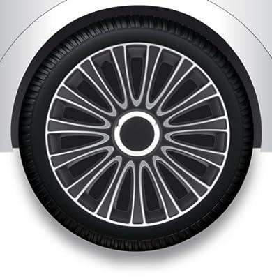 """Radzierblenden Radkappen Radabdeckung 15"""" Zoll #78 SILBER ABS von ZentimeX - Reifen Onlineshop"""