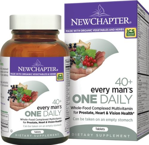 New Chapter Every Man's One Daily 40 Plus, 72